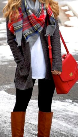fall-fashion-knit-layers-red-color-pop