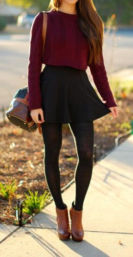 fall-fashion-red-knit